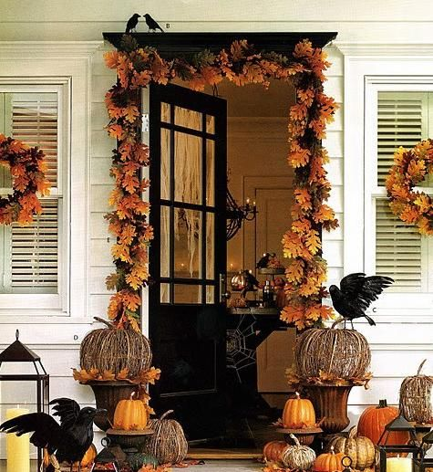 Best 25+ Halloween Porch Decorations Ideas On Pinterest