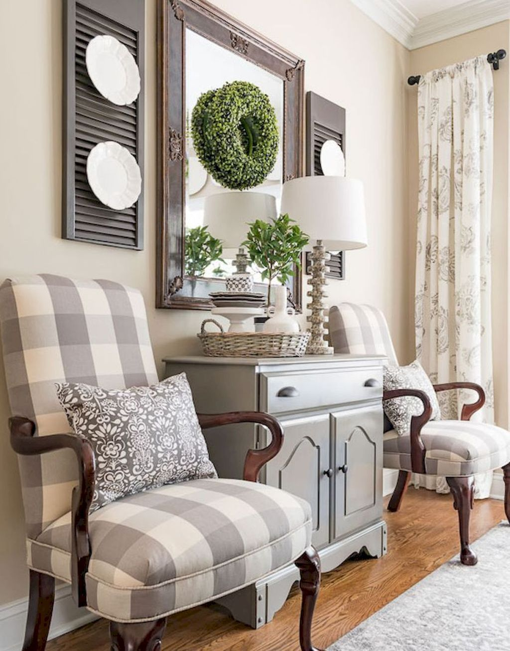 25 Elegant Farmhouse Decor Ideas French Country Decorating Living Room Dining Room Makeover Farm House Living Room
