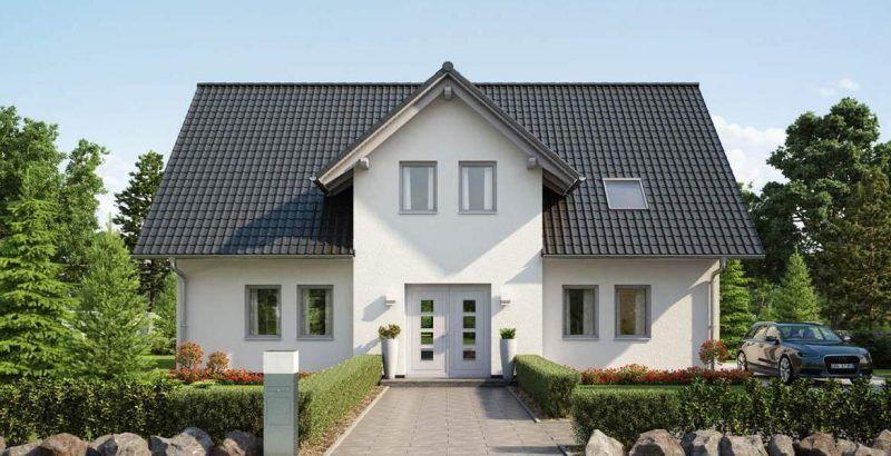 Mein Haus mit Herz - alle Haustypen im Überblick #bungalow #hausbau #walmdach #bauen #fertighaus