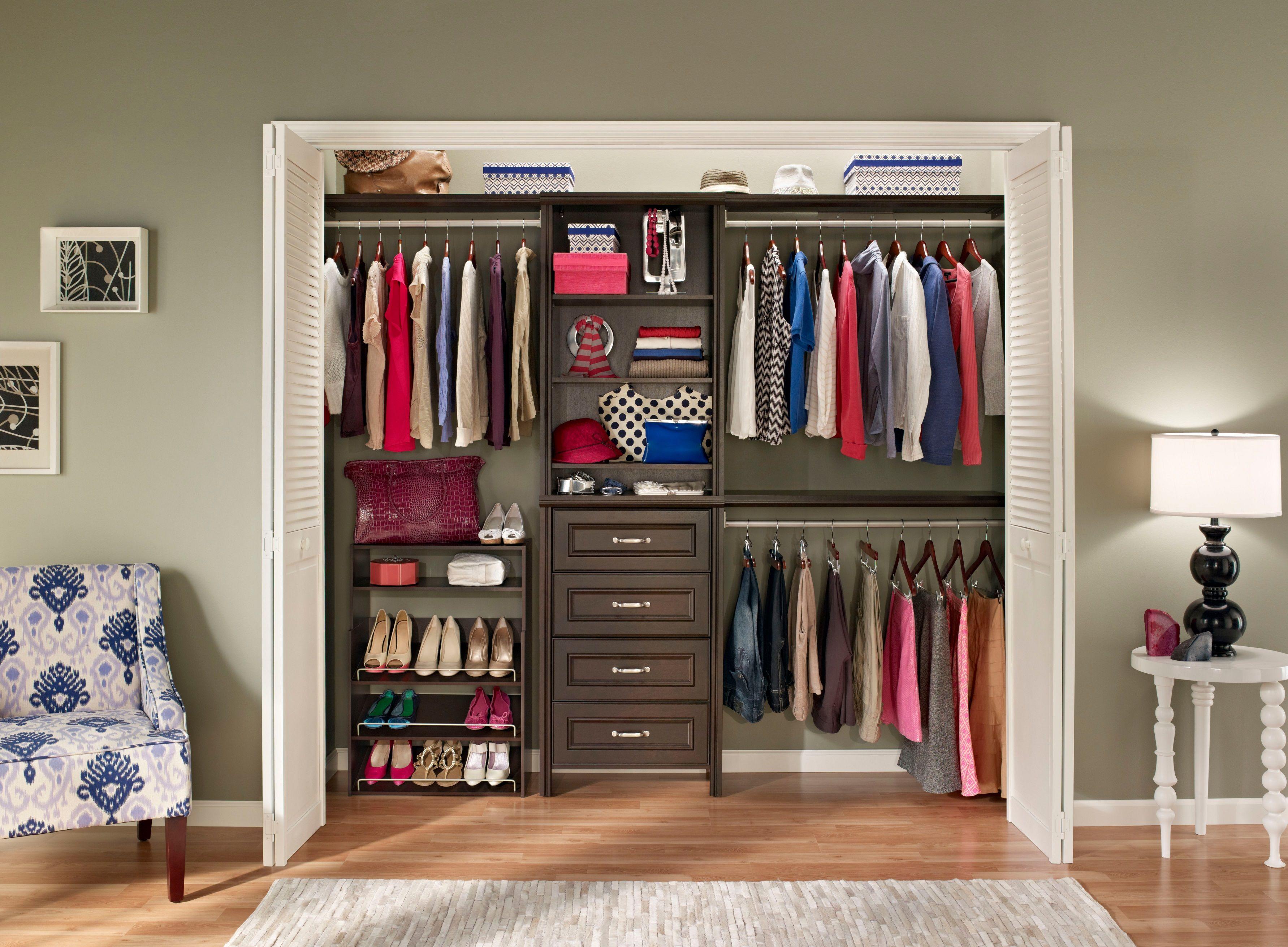 Closetmaid Impressions Home Depot Closet Closet Designs Closet
