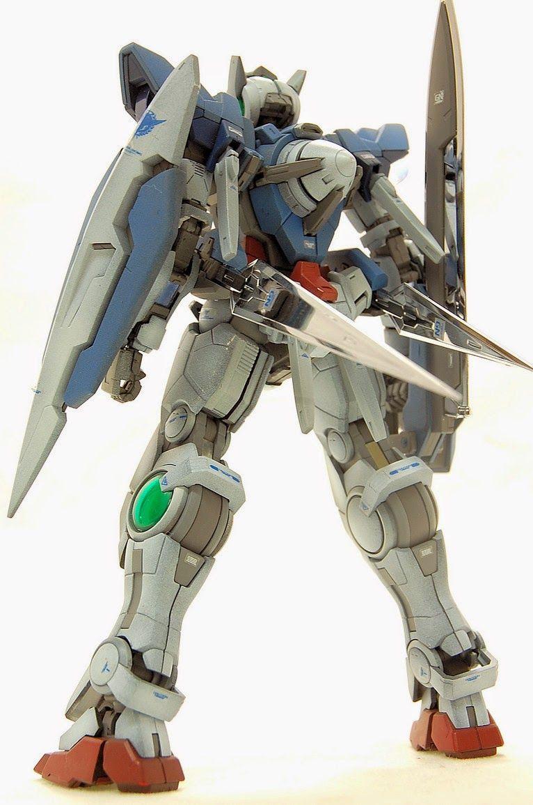 "RG 1/144 Gundam Exia ""Weathering Paint"" Custom Build"