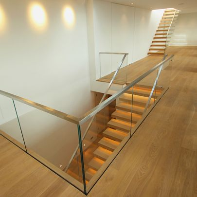 Best Glass With Brass Border Balustrade Staircase Google 400 x 300