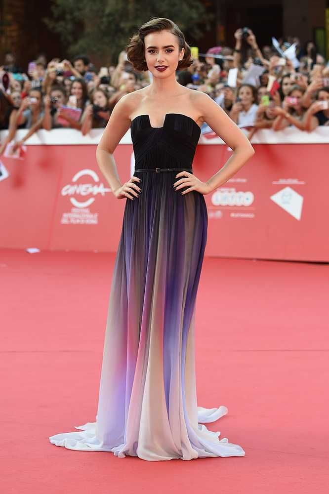 Every One Of Lily Collins\' Très Chic Outfits Inspiring Your Inner ...