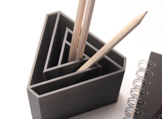 3d Printed Pen Holder Desk Organiser