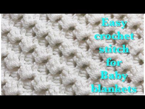 YouTube | Blankets | Pinterest | Puntadas, Ganchillo y Dos agujas