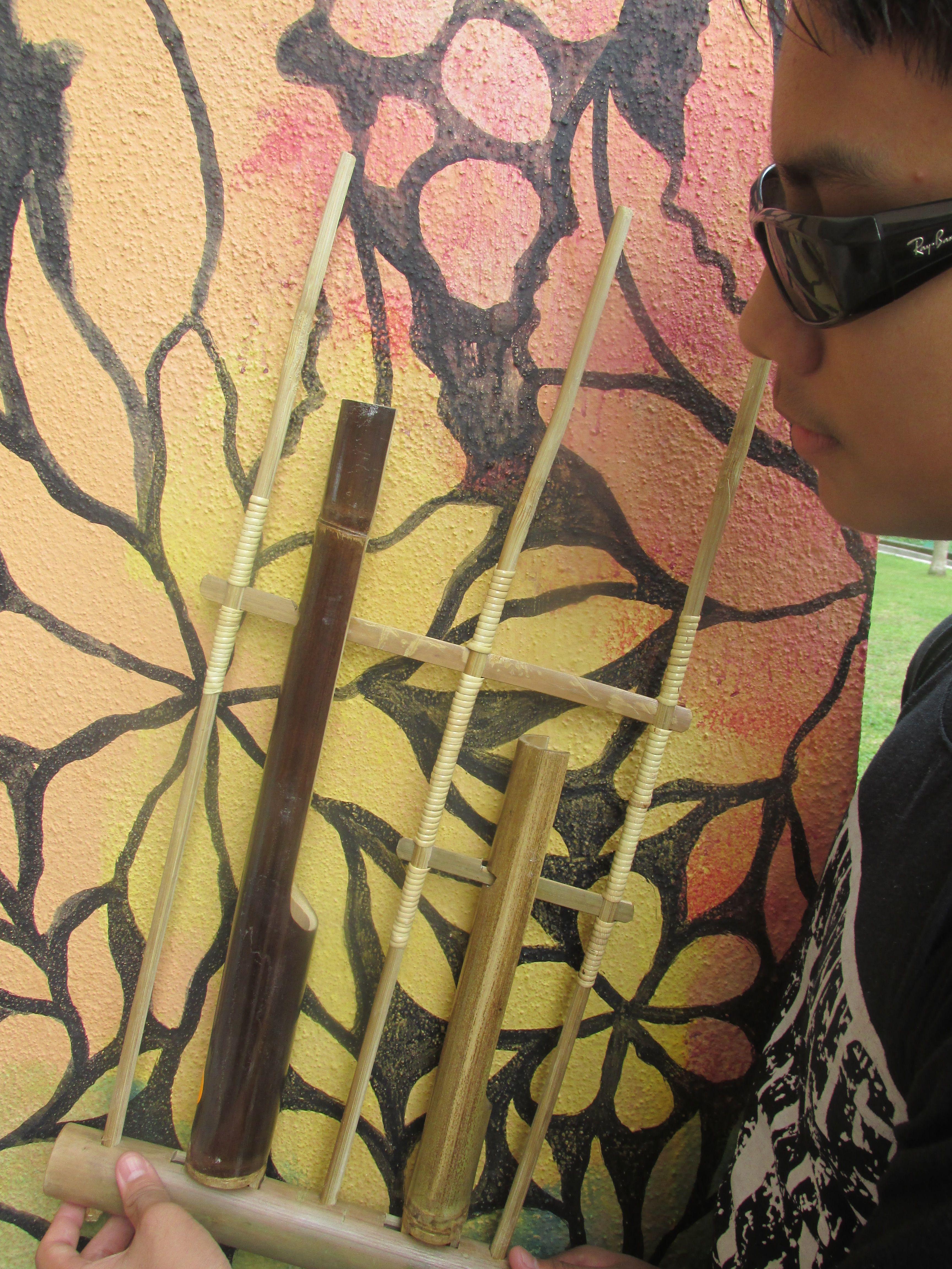 Angklung Pak Radja sharing joy in playing angklung angklungpakradja Angklung Pak Radja