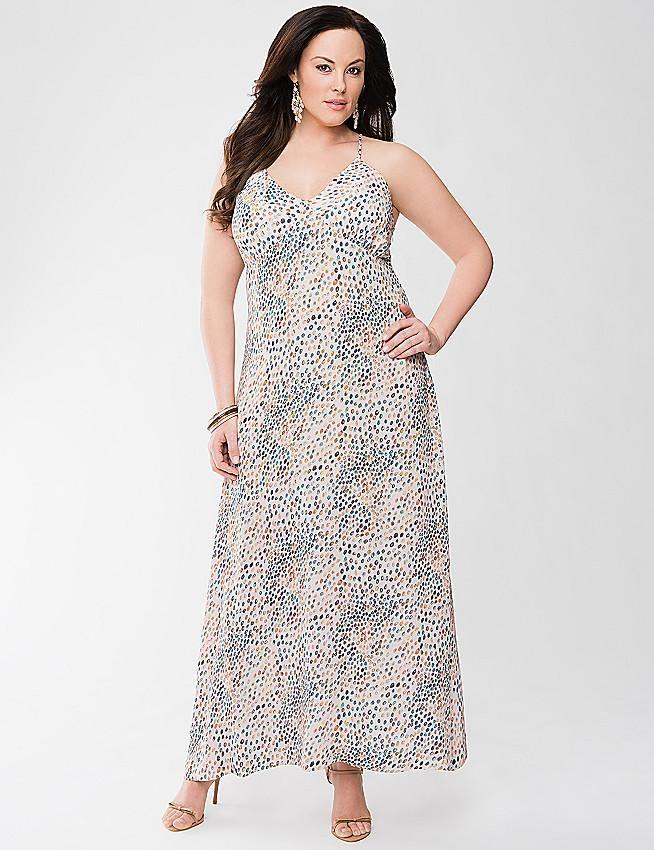 sundresses in plus size Lane Bryant Slip Dress
