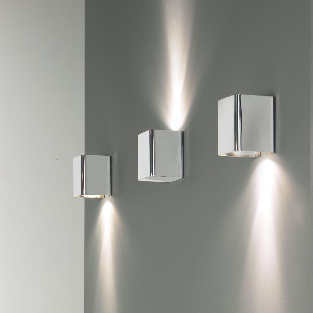 jef wandstrahler zur indirekten beleuchtung 1 flammige wandleuchte chrom designleuchten. Black Bedroom Furniture Sets. Home Design Ideas