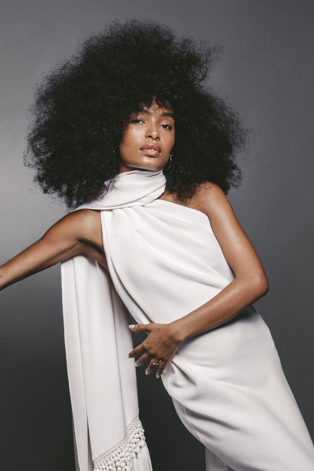 Yara Shahidi for Harper's Bazaar US Beauty, Fashion