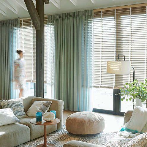 Trendy voorjaarslook voor elk raam in huis, gordijnen waar je écht ...