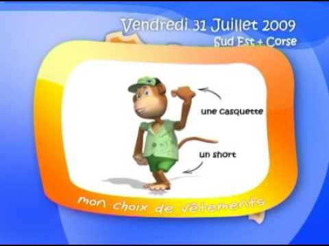 Demain Meteo de gulli Encyclopedie et dictionnaire Gulli--what a RIOT!  Meteo for the kids WITH clothing suggestions!  AND some other fun tips and facts.