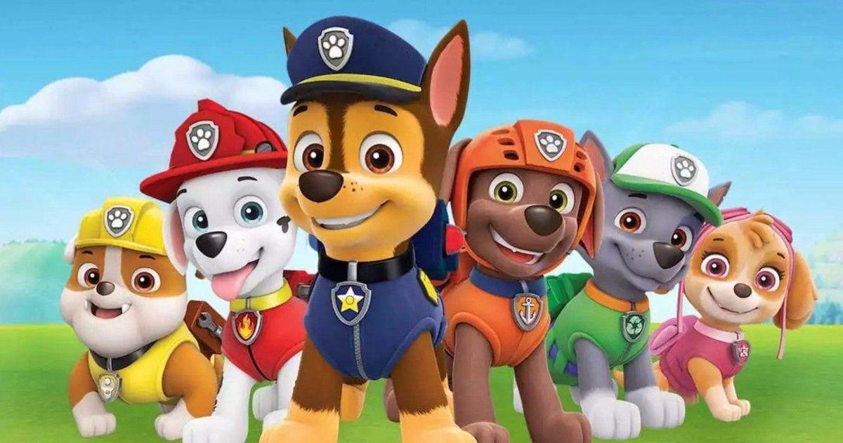 X2 Personnalisé Anniversaire Bannière Paw Patrol Enfants Fête Décoration 2