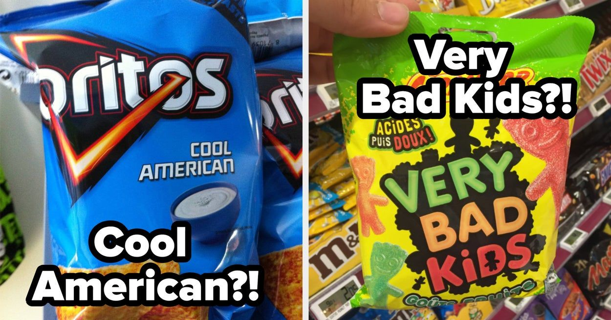 21 American Foods That Look Totally Different In Other Countries Ranch American