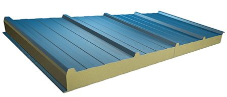 Insulated Aluminum Roof Panels Hr3 Insulated High Rib