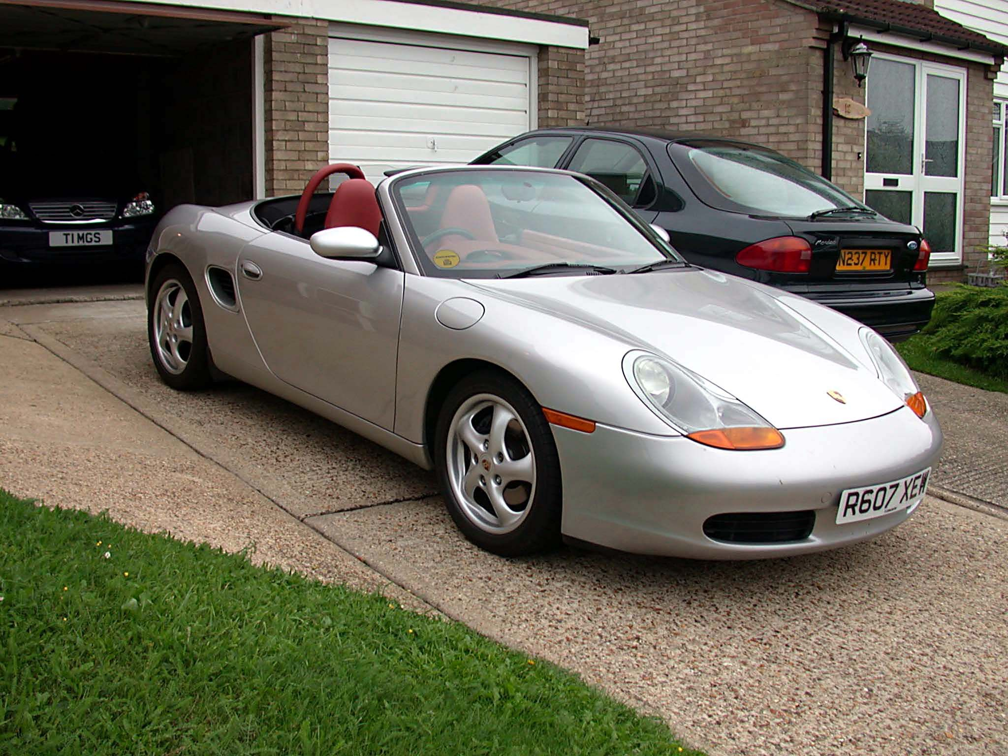 1997 porsche boxster 2.5 (type 986). in the launch colours of