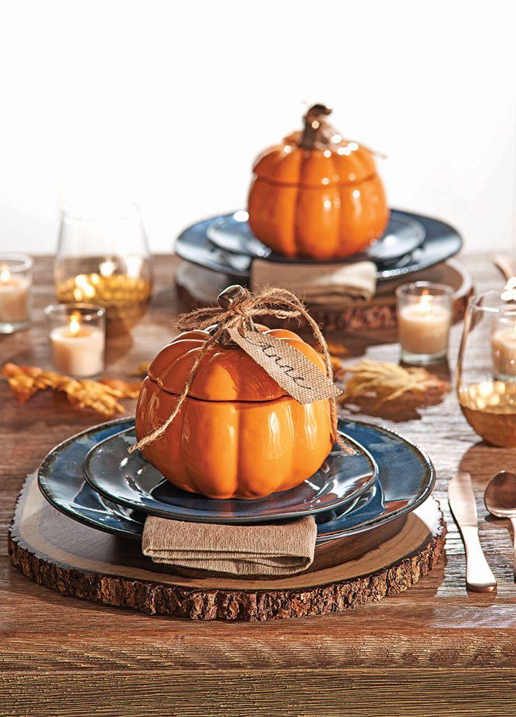 Pumpkin Soup Bowls #fall #BHGCelebrate