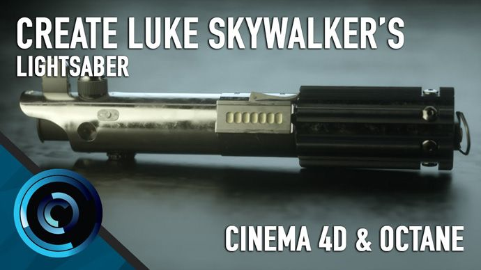 Cinema 4D – Creating Luke Skywalker's Lightsaber Tutorial