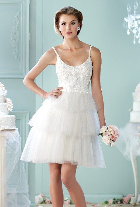 60 Short Wedding Dresses | Brides | Short Bridal Gowns | Pinterest ...