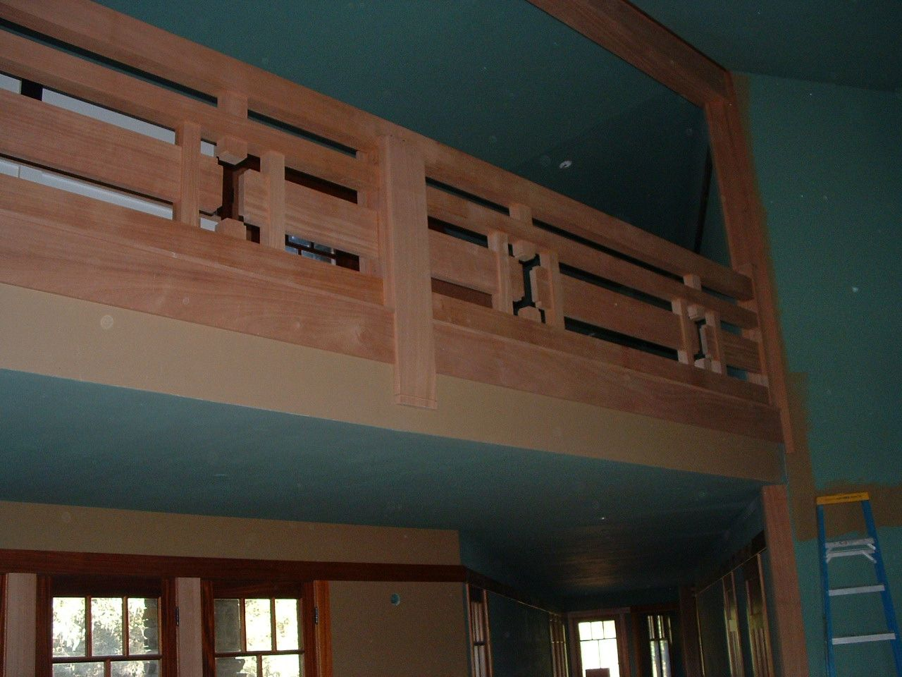 Best Mahogany Stair Rail With Images Stairs Stair Railing 640 x 480