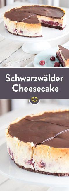 Schwarzwald meets New York: Schwarzwälder Cheesecake #cheesecakes