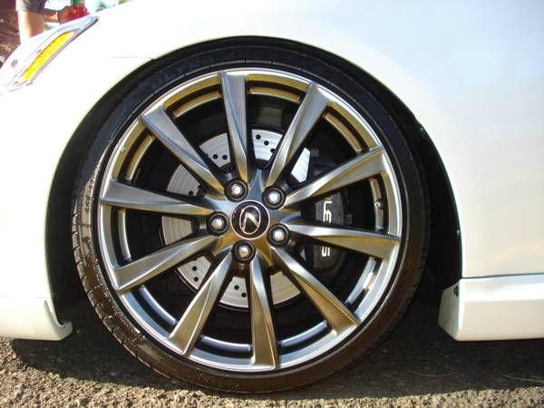 08 lexus Isf wheels