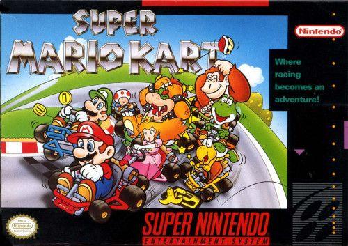 Snes Super Mario Kart Mario Kart Super Nintendo