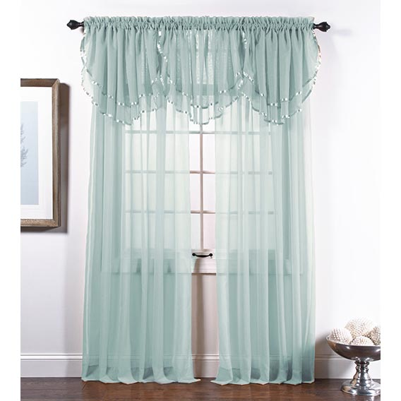 Elegance Voile Spa Blue Aqua Sheer Panels Pink Sheer Curtains Aqua Curtains Sheer Curtain Panels