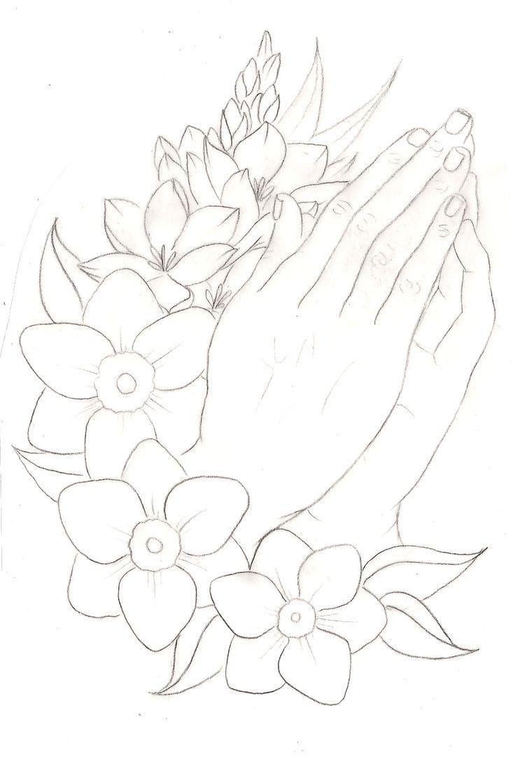 Prayer hands tattoos designs - Simple Praying Hands Tattoo Design Google Search