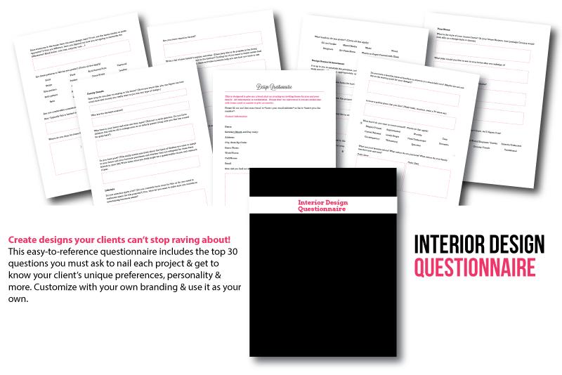 Interior Designer Client Questions Mupplebee Interior Decorating