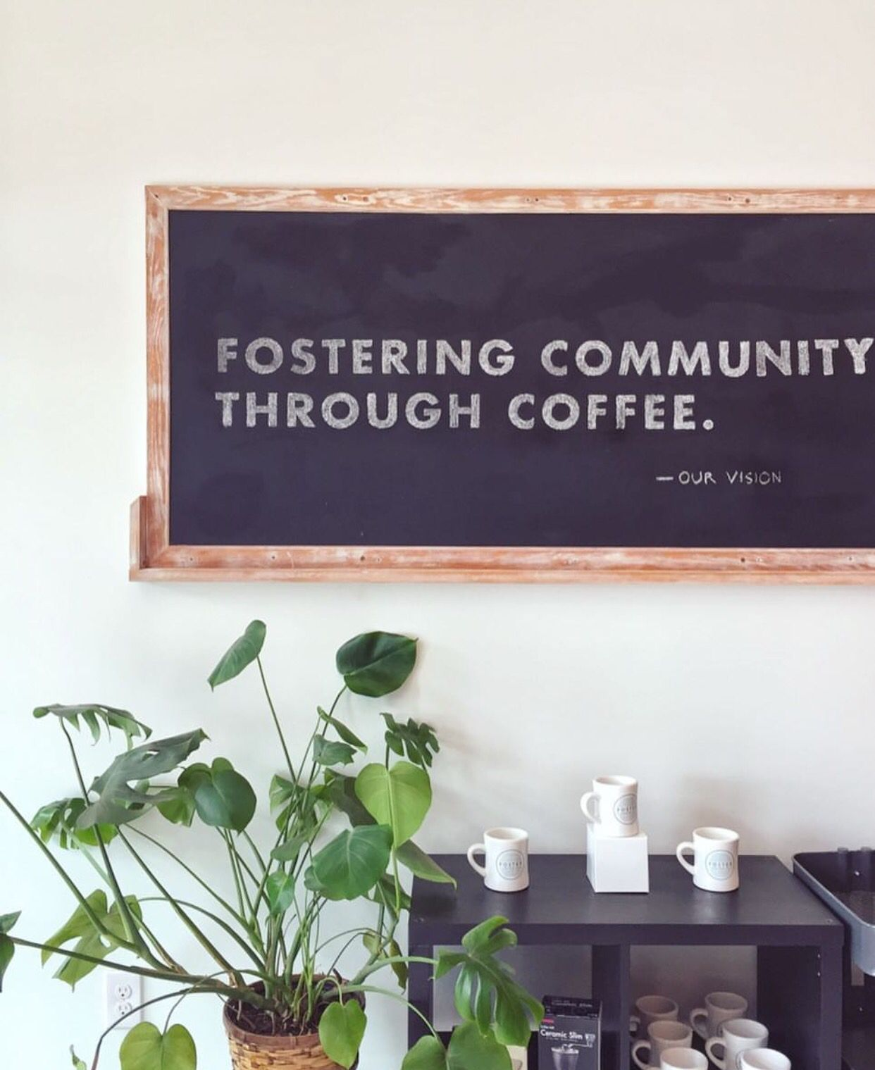Our vision. Photo: @jenennap #fostercoffeeco | The fosters, Coffee company, Coffee