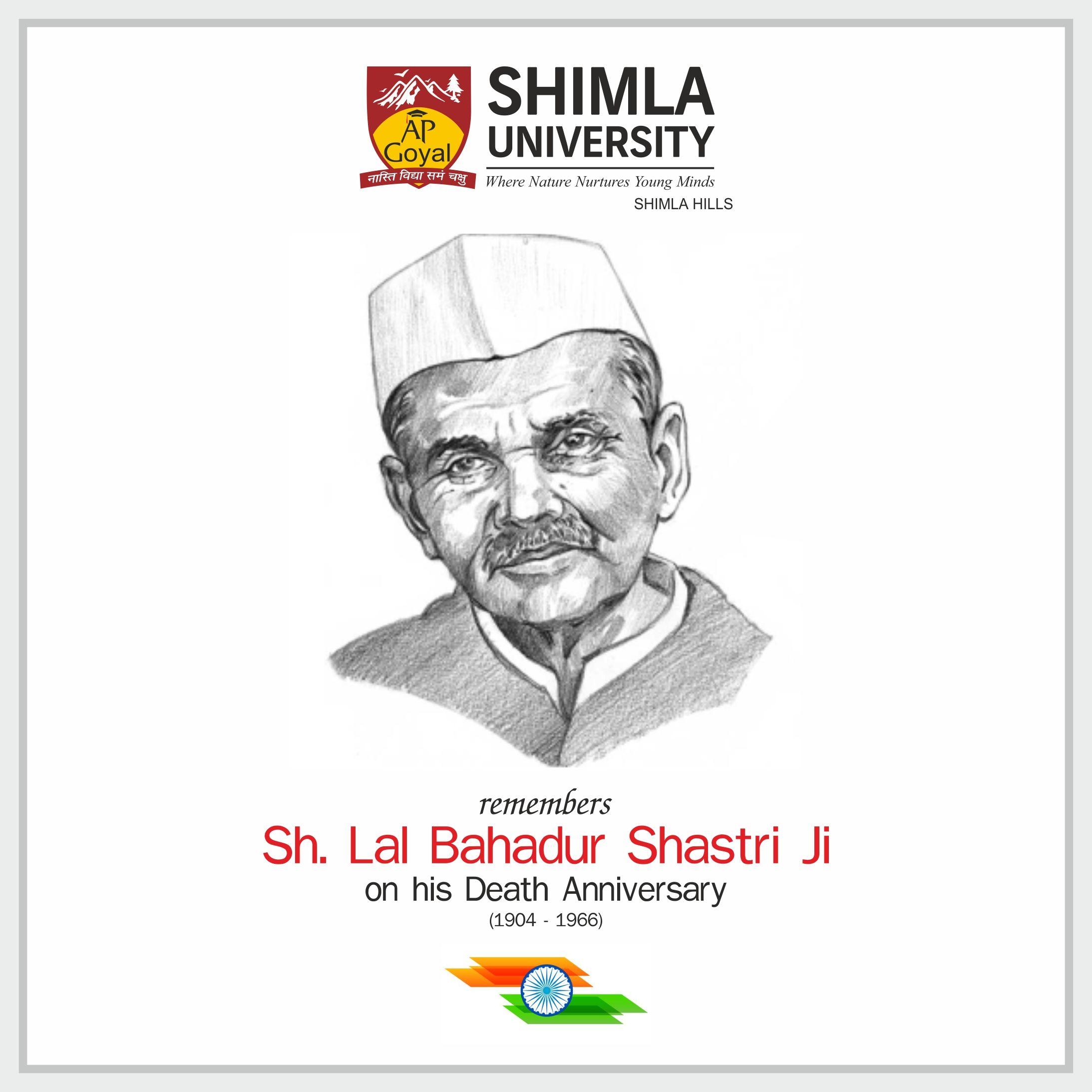death anniversary of lal bahadur shastri