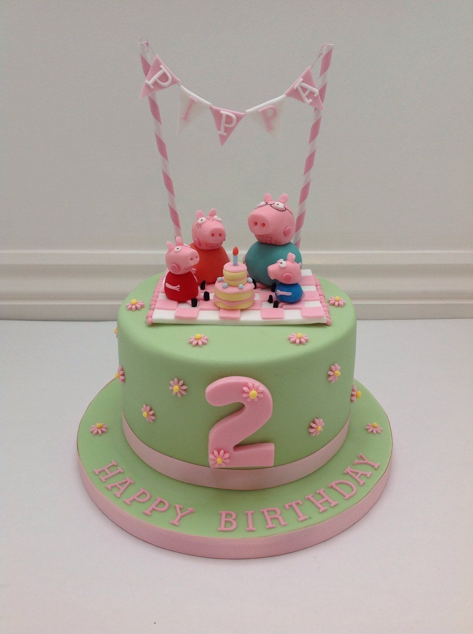 Peppa Pig Birthday Cake A Peppa Pig Picnic And Bunting Cake Fancy Fondant Party Ideas Entitlementtrap Com Peppapig In 2020 Kuchen Kindergeburtstag Geburtstagskuchen Kind Geburtstagskuchen Kinder