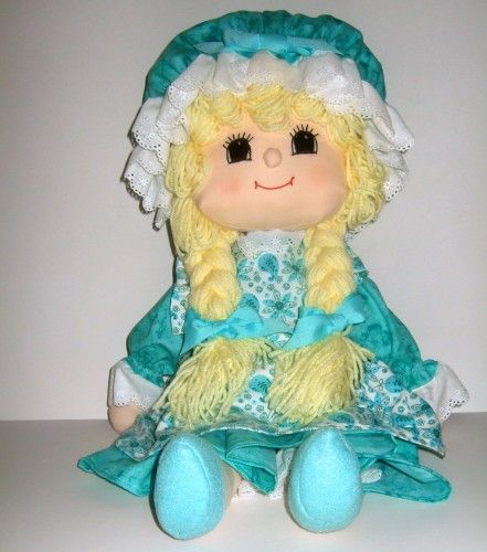 THis little Ozark doll is adorable! Ozark Mountain Handmade Rag Doll Lil Country Girl Lilly
