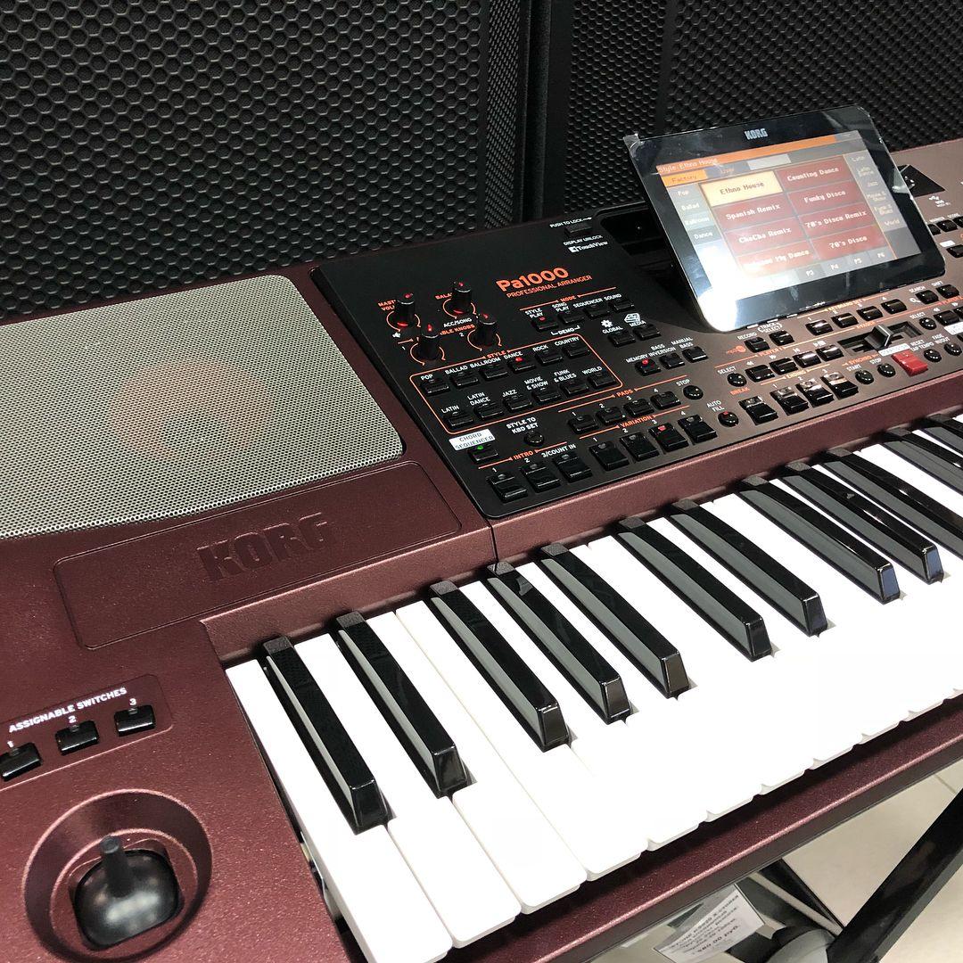 Korg PA1000 Review 1 | music stuff | Keyboard piano, Piano