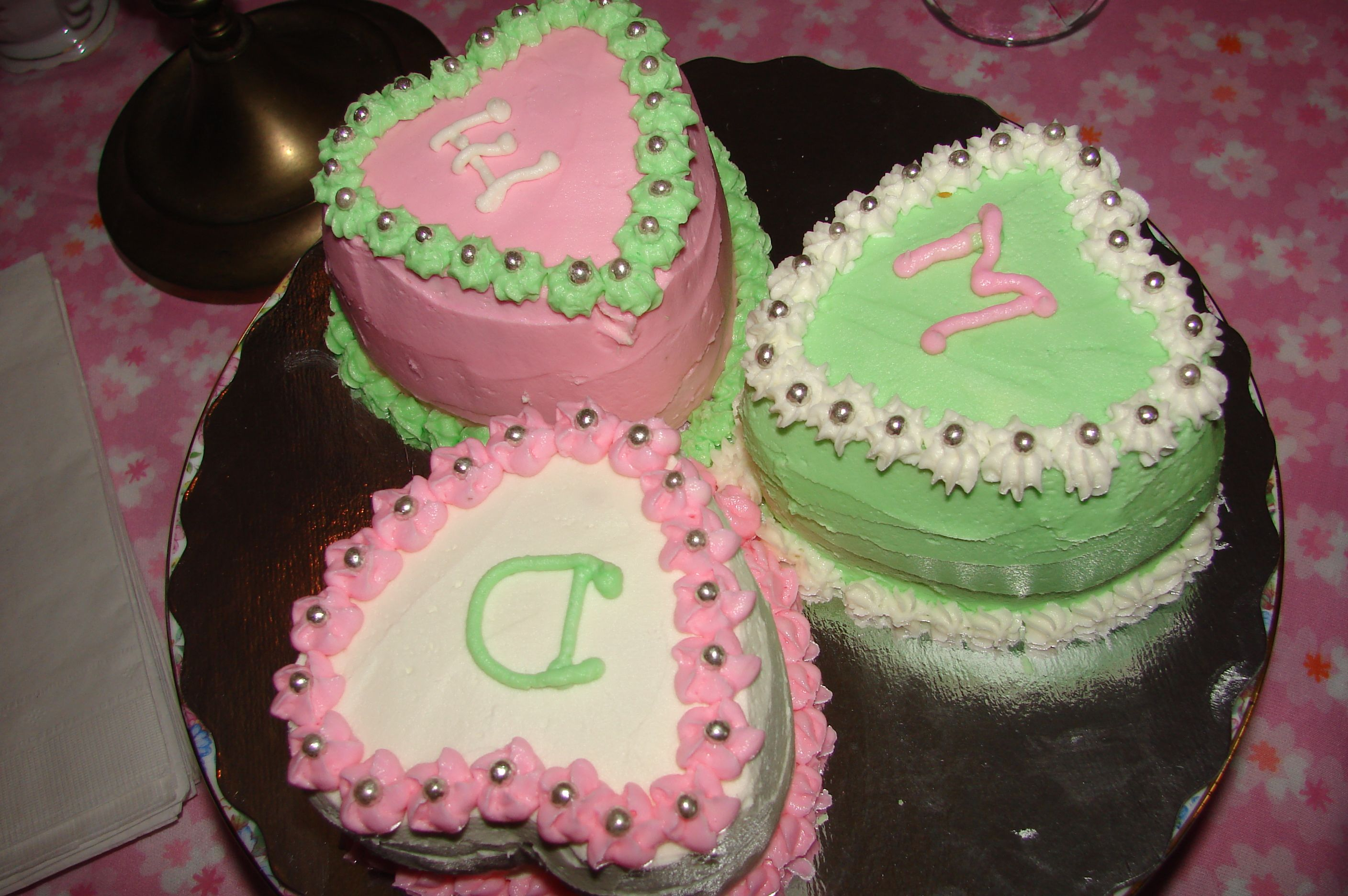 "More baby cakes from First and Forever ""Cakes, Brantford, Ontario."
