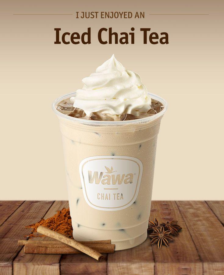 Wawa Hot & Iced Beverages: Iced Chai Tea Latte