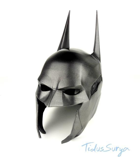Da Uomo ARKHAM DC Comics Batman Supereroe HALLOWEEN FANCY DRESS COSTUME Outfit S-XL