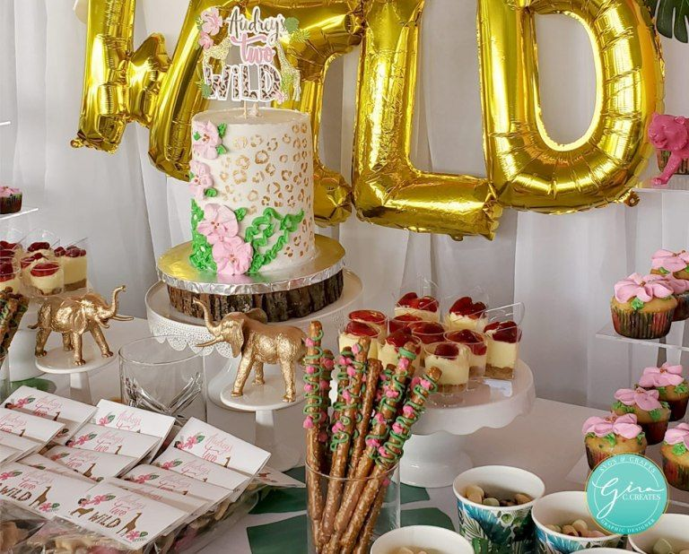 Two Wild Birthday Party Free SVG and Printable in 2020