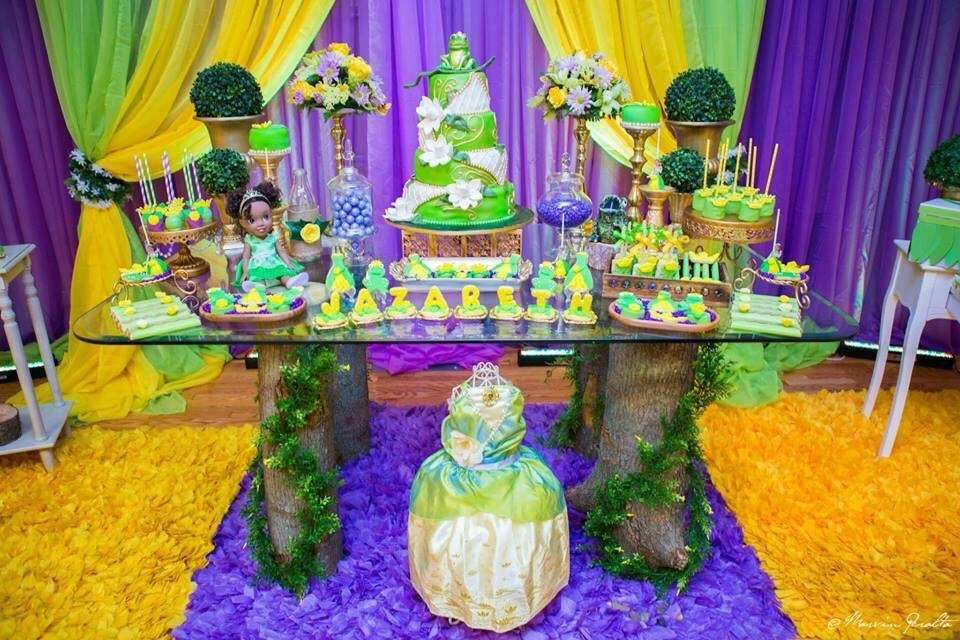 superior Princess And The Frog Decoration Ideas Part - 7: Princess and the Frog Birthday Party Ideas | Photo 1 of 27 | Catch My Party