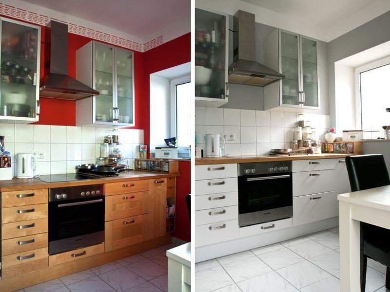 Küchenfronten austauschen: 23 Ideen zur kompletten Änderung ...