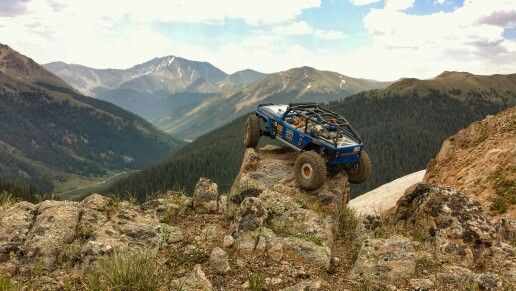 Jeep at 12,000+ ft in Colorado