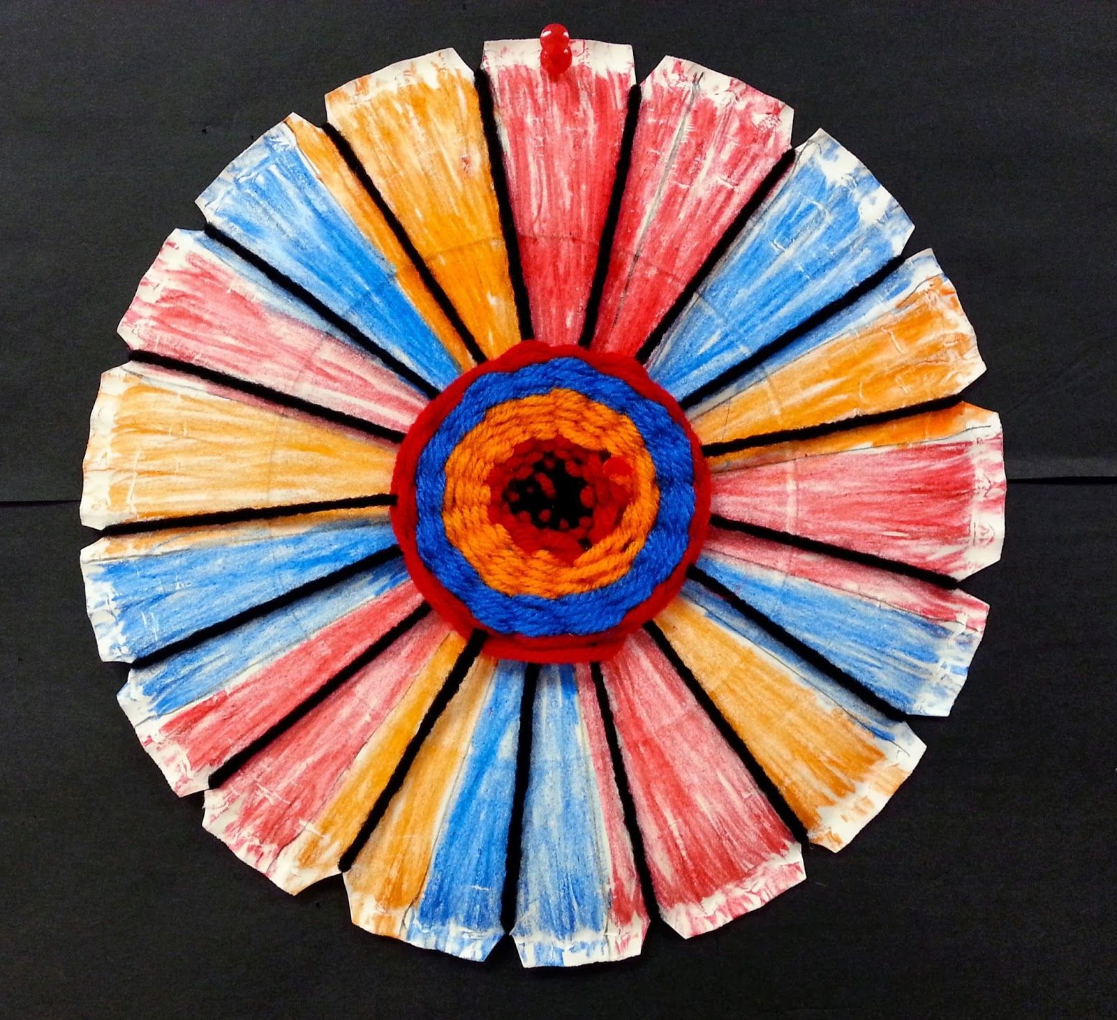 Art with Ms. Gram: Navajo- inspired Radial Weaving (3rd)