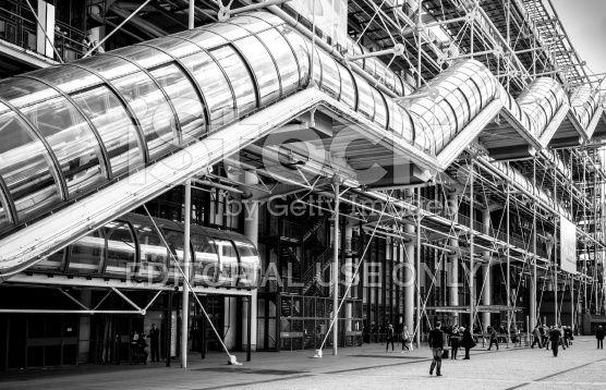 Centro Georges Pompidou di Parigi, Francia - fotografia stock royalty-free