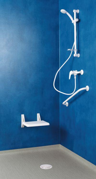 Aquarelle Wall HFS BLUE 3942046 Wohnungsbau, Dusche