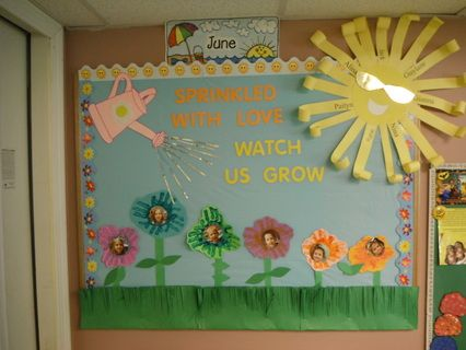 Sprinkled With Love Watch Us Grow Bulletin Board