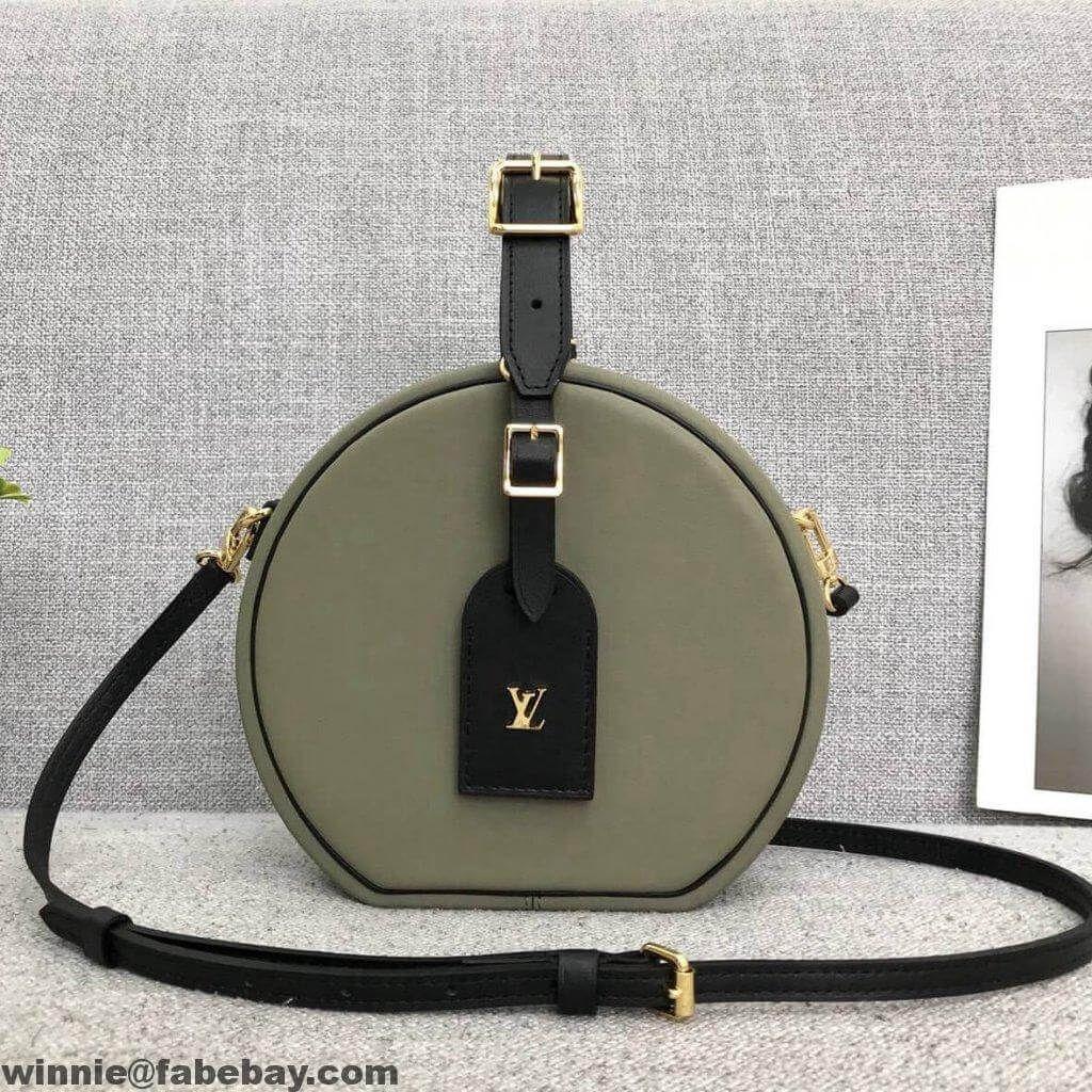 b81c9b96c93a Louis Vuitton Calfskin Petite Boite Chapeau Bag