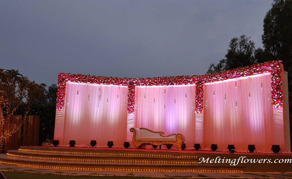 wedding stage decoration pics%0A Excellent Ideas To Try To Wedding Stage Decoration
