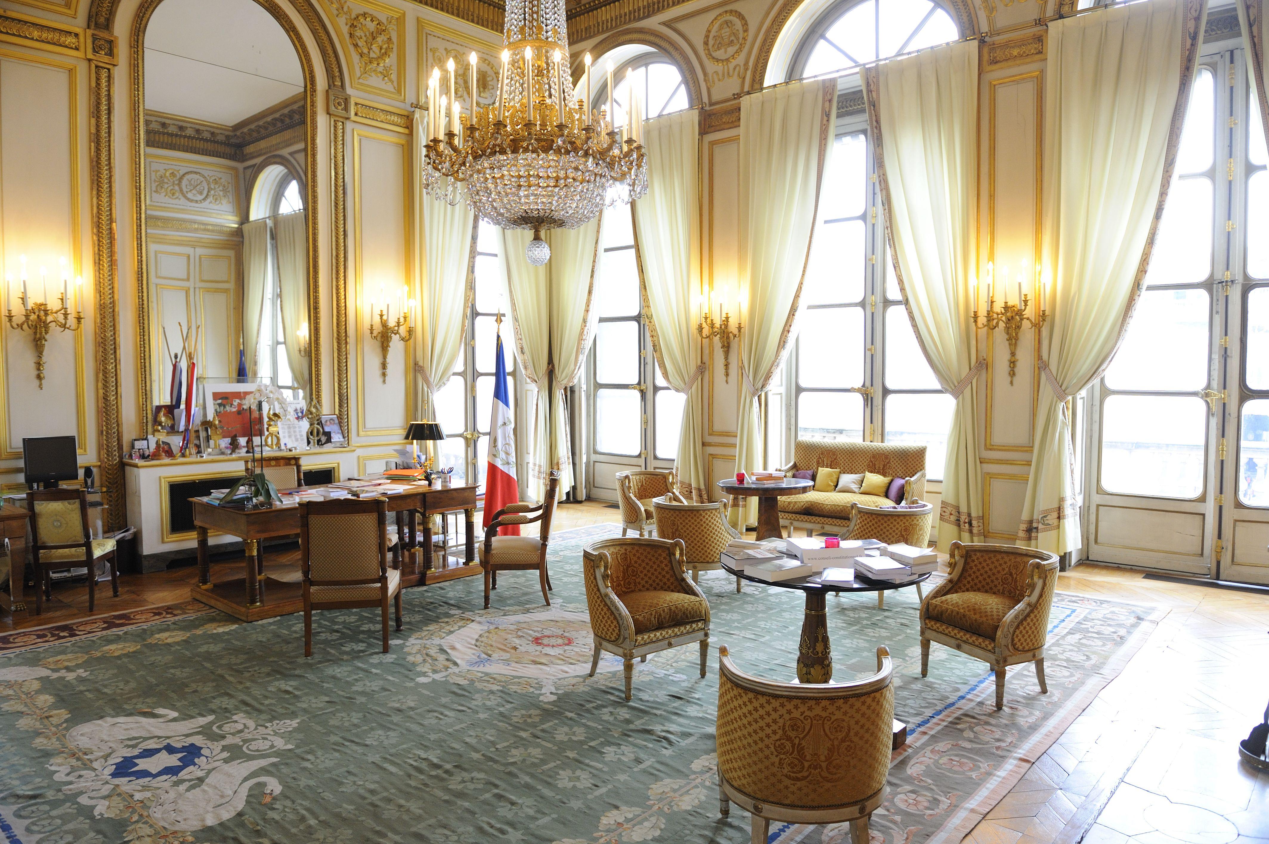 bureau du président | intérieur du conseil constitutionnel | pinterest - Designer Chefmobel Moderne Buro