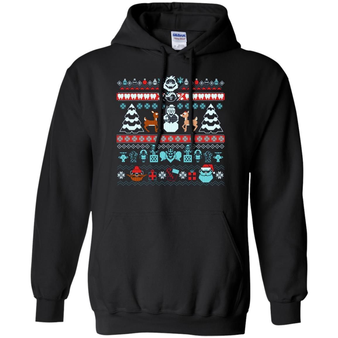 the island of misfit ugly christmas sweaters t shirt - Misfits Christmas Sweater