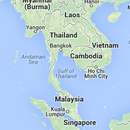 South East Asia Map - Maps of Thailand, Vietnam, Cambodia, Laos ...
